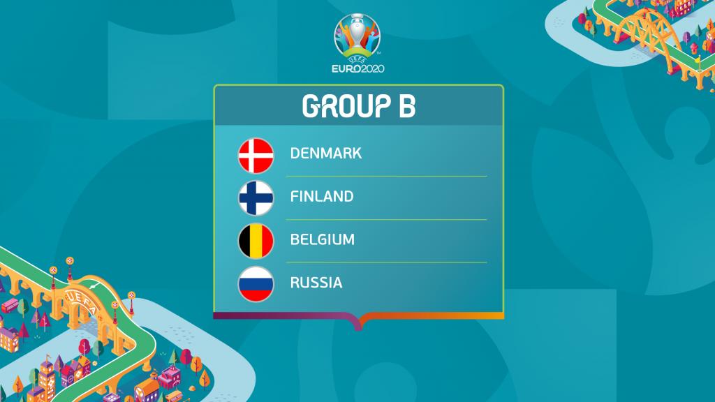 Grup B Euro 2021