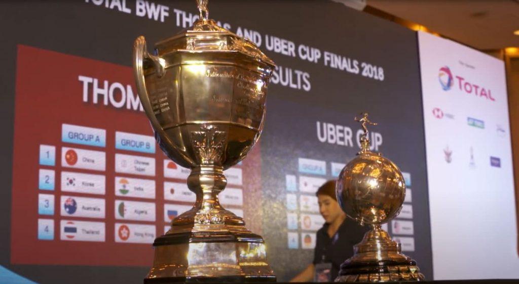 Piala Bergengsi Thomas dan Uber Cup 2021