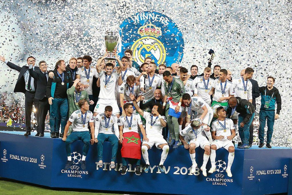 Real Madrid Raih Juara Champions UEFA Terbanyak
